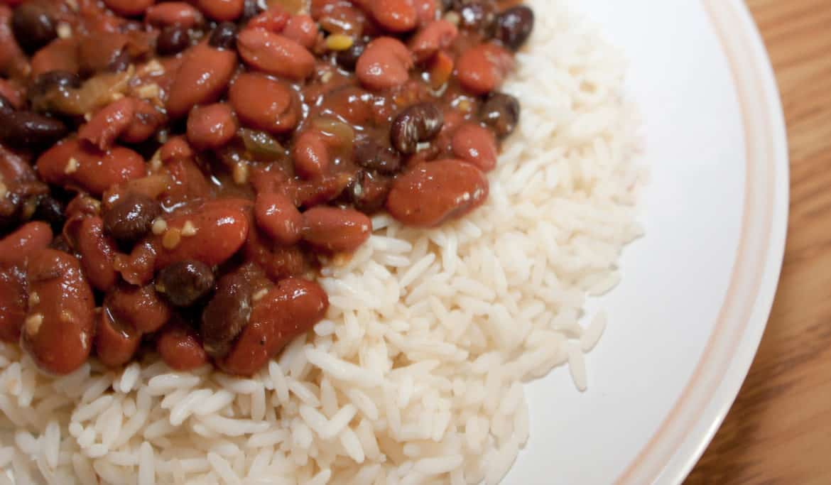 Beans And Rice For Dinner