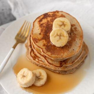 Banana Egg White Pancakes