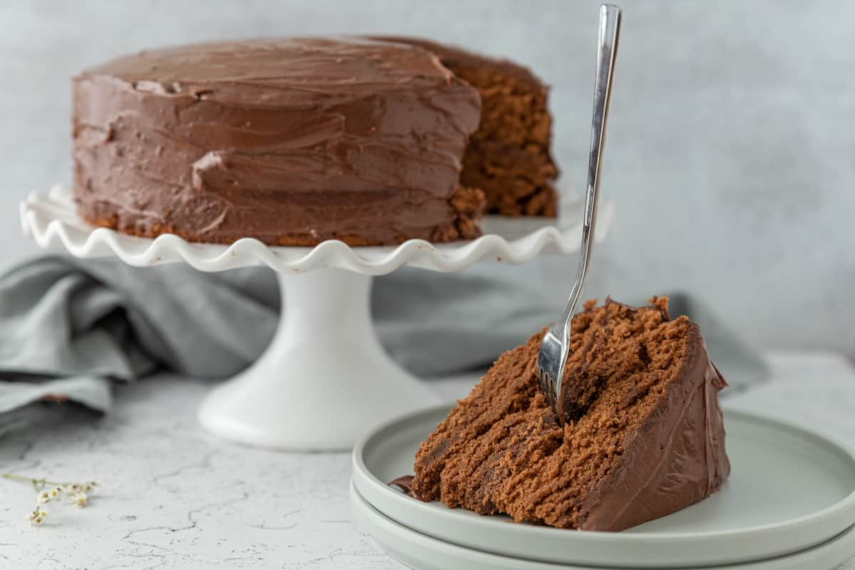 Chocolate Cake Without Cocoa Powder Foods Guy
