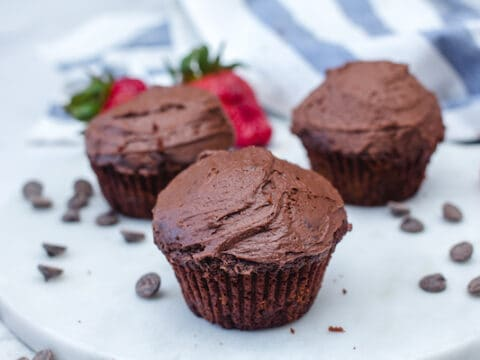 Chocolate Cupcakes Without Cocoa Powder Foods Guy
