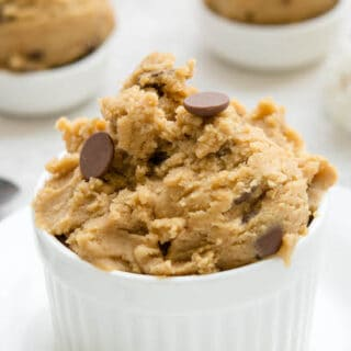 Edible Cookie Dough Without Brown Sugar