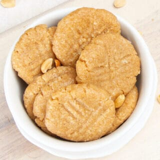 Peanut Butter No-Bake Cookies Without Oatmeal