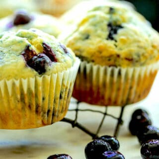 Blueberry Muffins With Oil