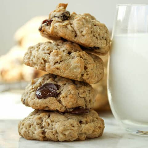 Oatmeal Cookies Without Brown Sugar