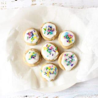 No-Bake Sugar Cookies