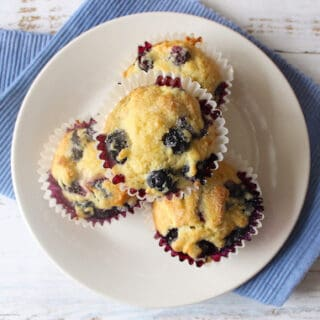 Blueberry Muffins Without Baking Powder