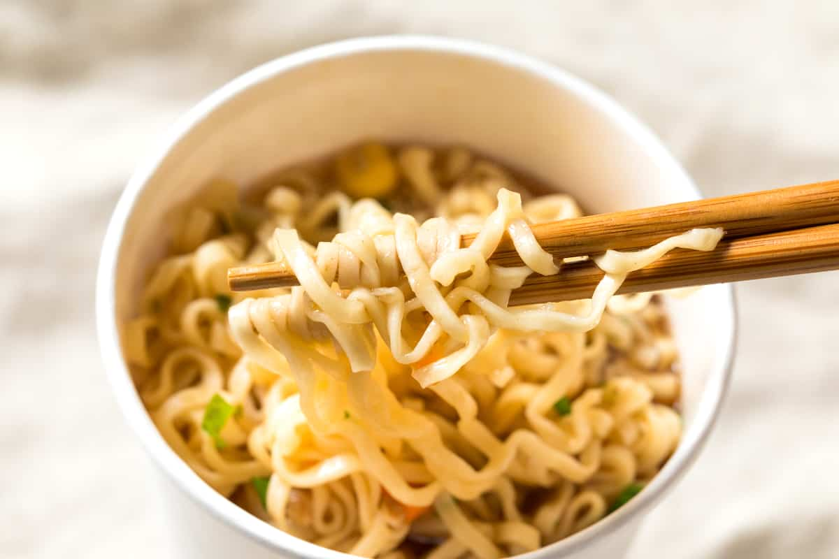 Can You Microwave Cup Noodles? - What To Do Instead - Foods Guy