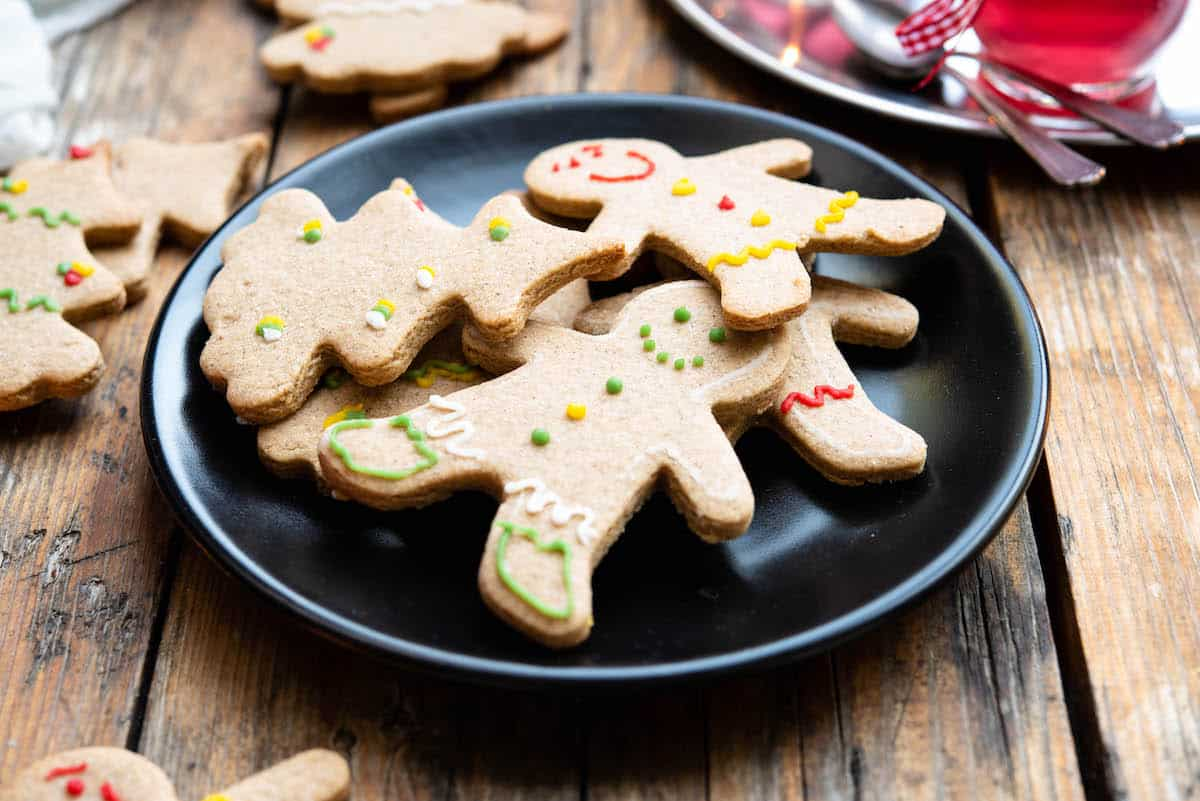 Gingerbread Cookies Without Molasses Foods Guy
