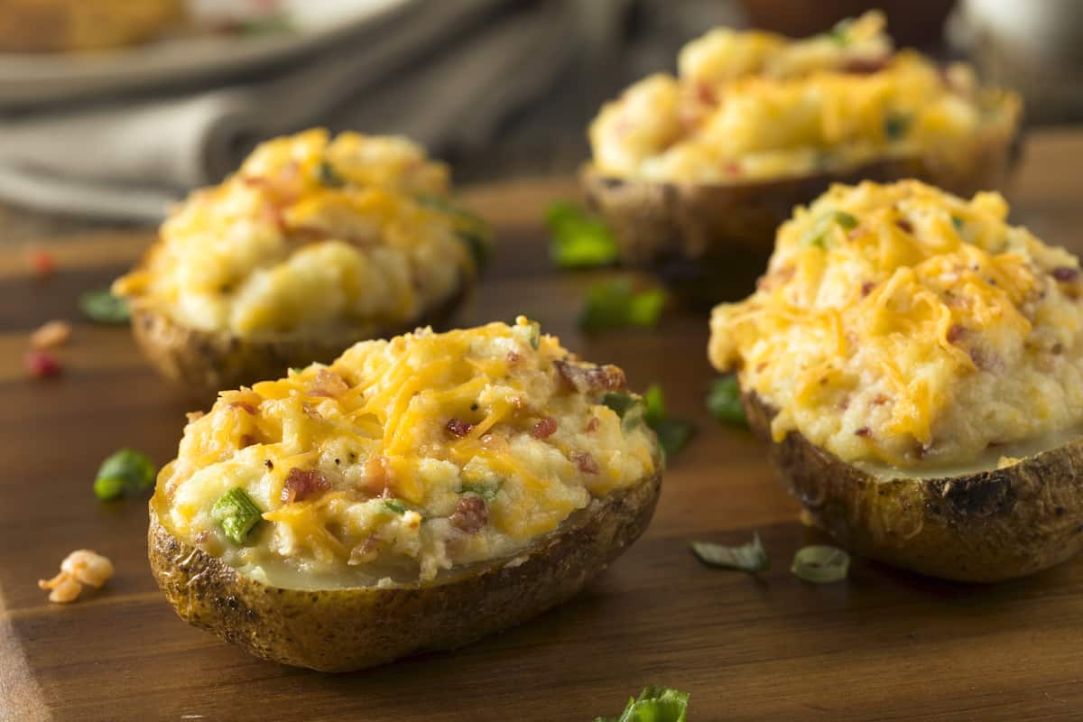 How To Reheat Twice Baked Potatoes Foods Guy