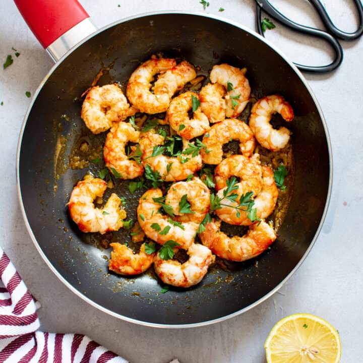 Shrimp Scampi Without Wine