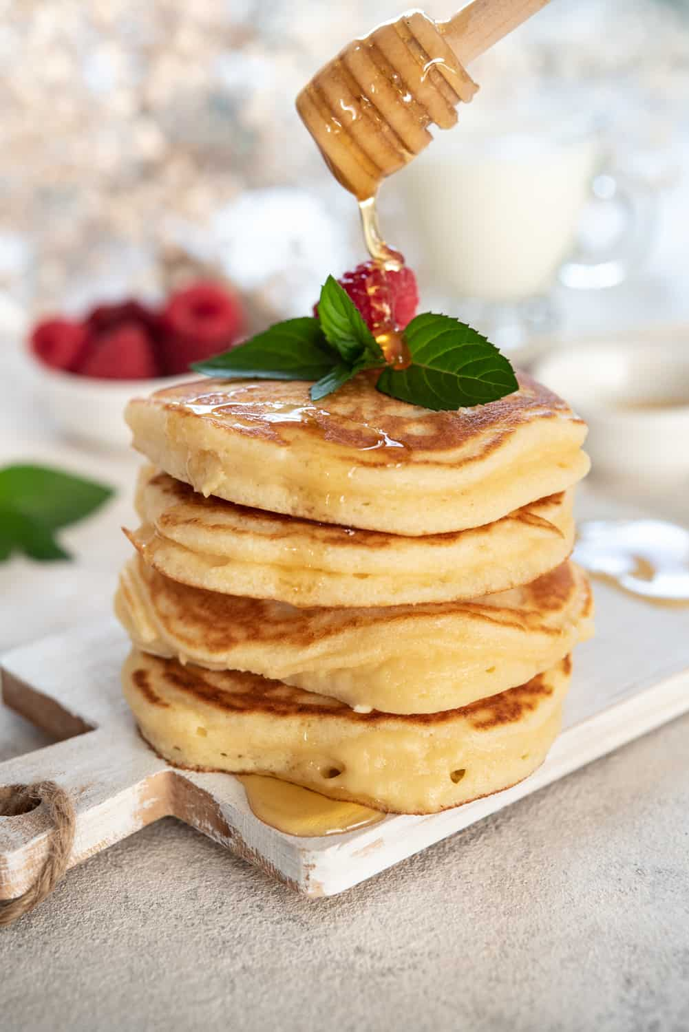 Fluffy Pancakes With Pancake Mix Foods Guy