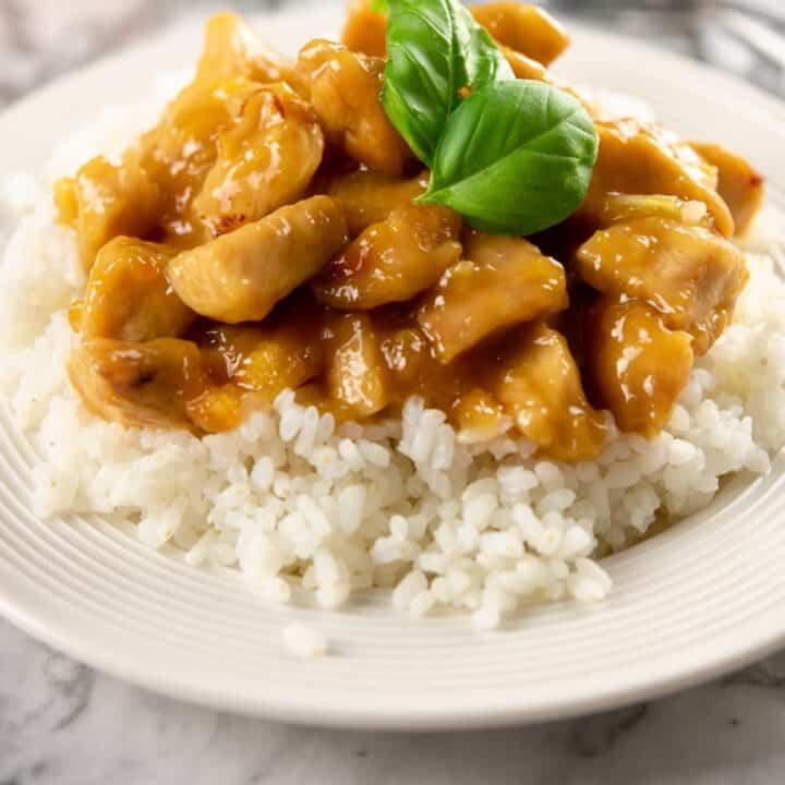 5 Ingredient Orange Chicken Recipe