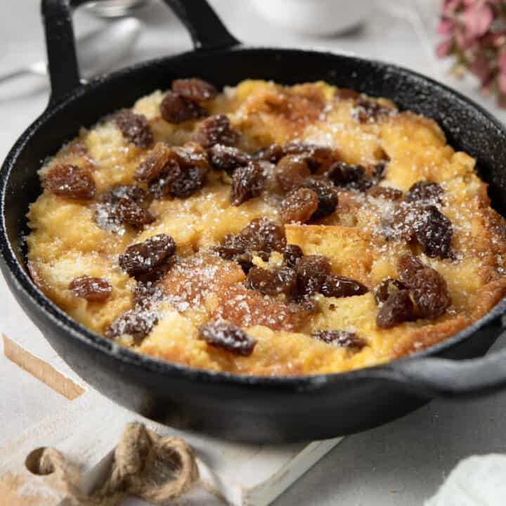 Bread Pudding Without Oven