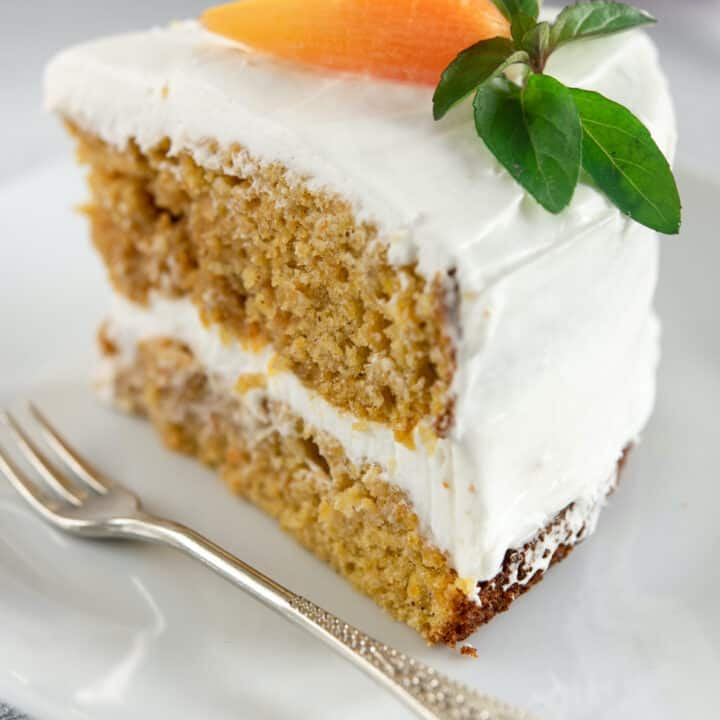 Carrot Cake Without Nuts
