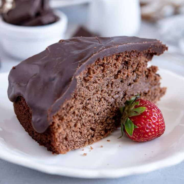 Condensed Milk Chocolate Cake