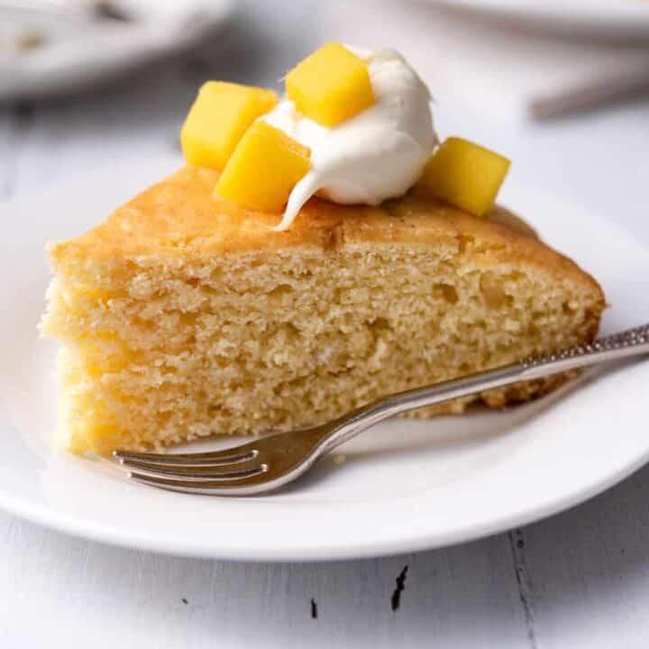 Mango Sponge Cake