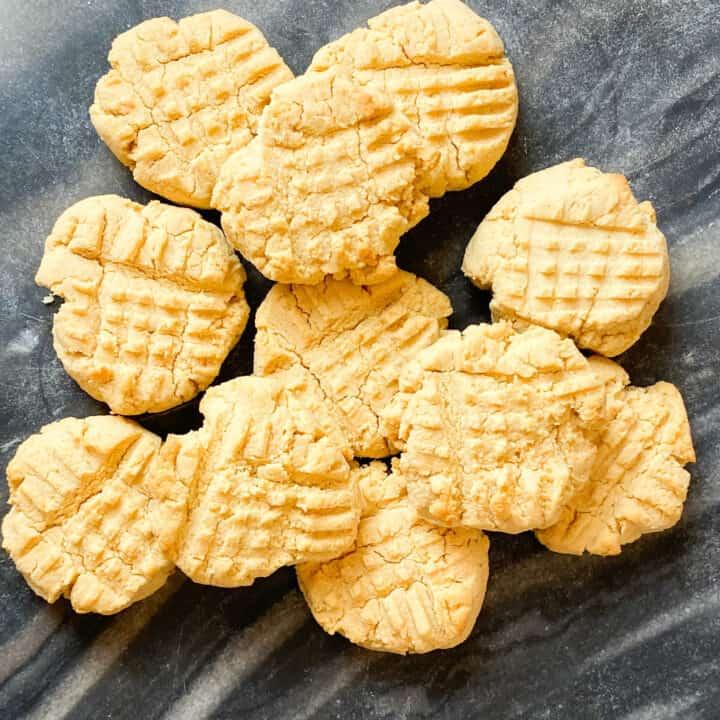 Shortbread Cookies With Coconut Flour
