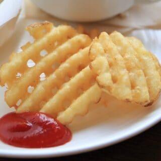 Frozen Waffle Fries In An Air Fryer