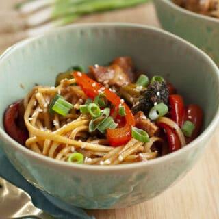 20 Minute Udon Noodle Recipe